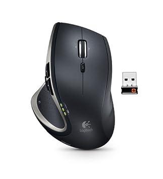 d016a43865b Logitech Performance Mouse MX Souris sans-fil 2.4 GHz Défilement  ultra-rapide Récepteur sans