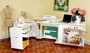 Kangaroo Kabinets - Kangaroo Kabinets & Joey Sewing Cabinet in White Ash