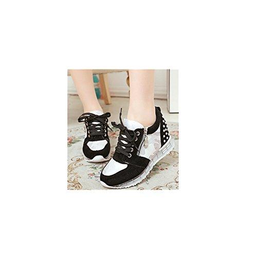 ftsucq-womens-big-girls-lo-top-canvas-lace-up-trainers-rivet-platform-slip-on-black-sneakersus-65