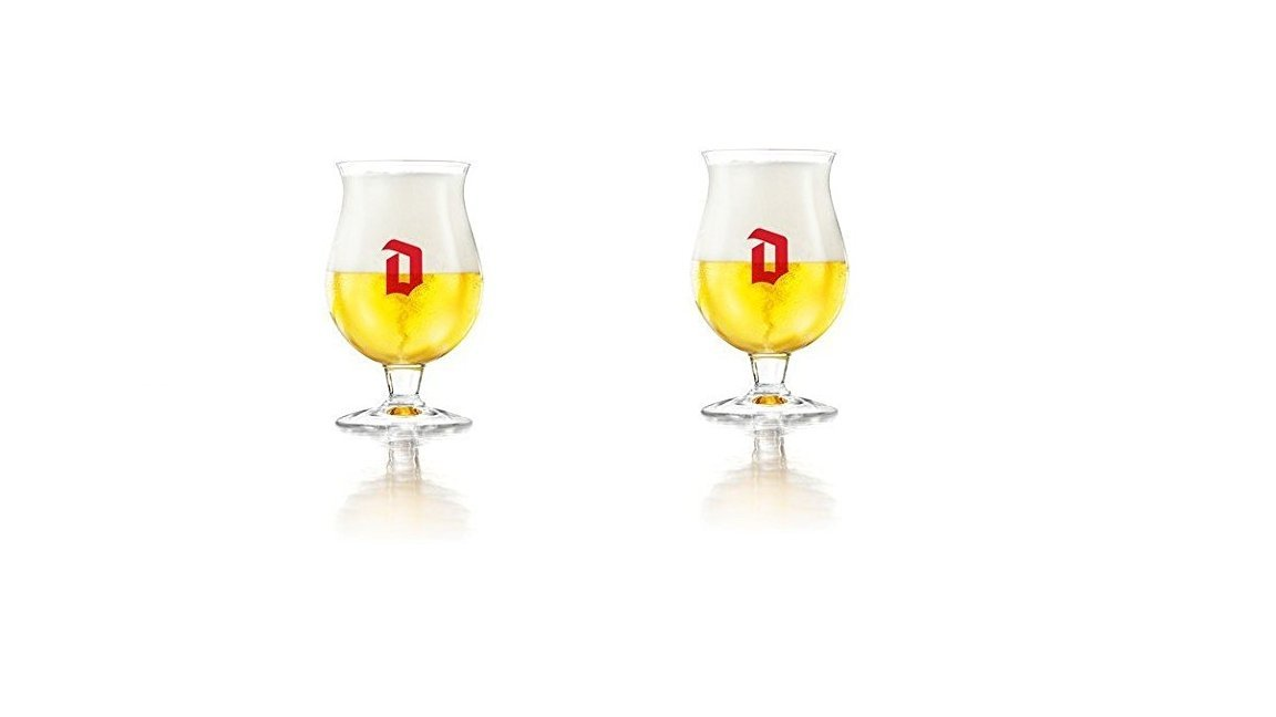 Duvel Tulip Belgian Beer Glass - Set of 2 by Duvel (Image #1)