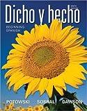 Dicho y Hecho, 9TH EDITION, SOBRAL, DAWSON POTOWSKI, 1118099303