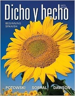 Amazon. Com: dicho y hecho: brief edition (spanish edition.