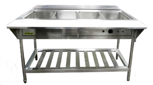 Adcraft EST-240/KIT Water Bath Electric Steam Table for Buffet