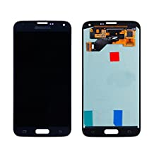 LCD display Digitizer touch screen Assembly Replacement set For Samsung Galaxy S5 i9600 G900A G900T G900V G900P(blue)with free repairing tools