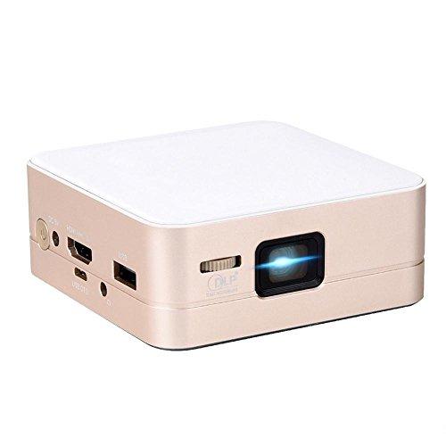 Mini Projector, WinnerEco Touyinger T5 Dlp Led Full Hd Mini 1080P 4K Video Portable Home Projector