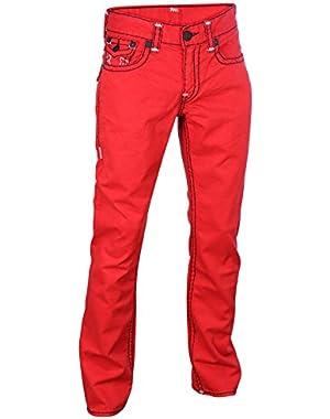 Men's Super T Flap Pocket Straight Leg Denim Jeans