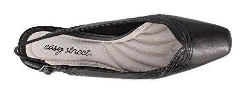 Facile Rue 30-8200 Femmes Magnifique Sandale Noir-noir-brevet-serpent