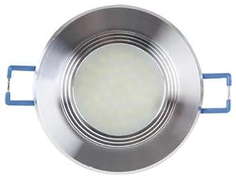 Velleman ight Leda 24nw LED Lámpara empotrable con difusor de lente, 4200K, 4,5W, 230V, Blanco Neutro