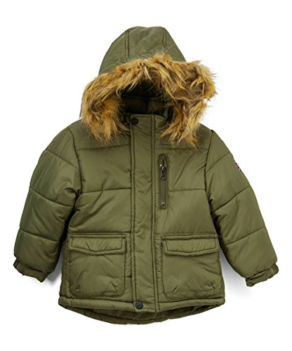 Ben Sherman Baby Boys Fashion Outerwear Jacket (More Styles Available), Olive/Green, - Fashion Sherman