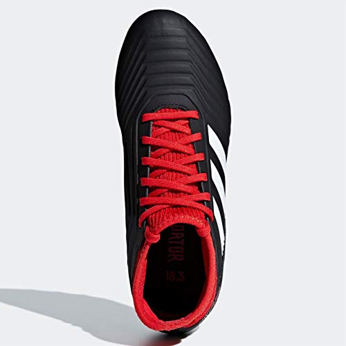Adidas Ftwbla 3 Rojo Unisex Fútbol Negbás de Predator 18 J AG Adulto 001 Negro Botas 7Ty4HTrRF