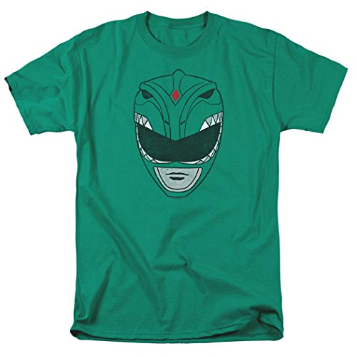 Power Rangers Green Ranger Mask T Shirt (XX-Large)