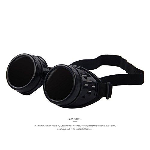 TIANLIANG04 El Estilo de época Victoriana gótica Unisex Gafas Gafas de Soldadura Punk gótico Cosplay,C02: Amazon.es: Deportes y aire libre