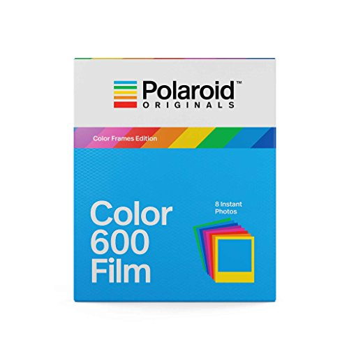 Polaroid Originals Color Film for 600 - Color Frames (4672) (600 Film Pack)