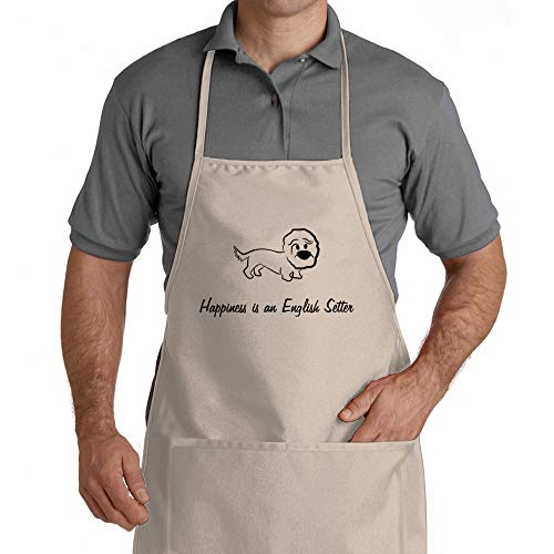 Eddany Happiness is a English Setter Apron