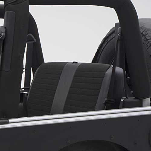 Smittybilt 756115 XRC Black on Black Rear Seat Cover