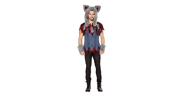 Amazon.com: Fest Threads - Disfraz de lobo grande para ...