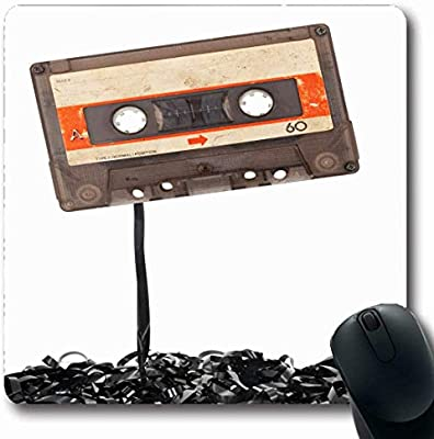 Luancrop Alfombrillas para computadoras Cassette Antiguo Cinta de ...