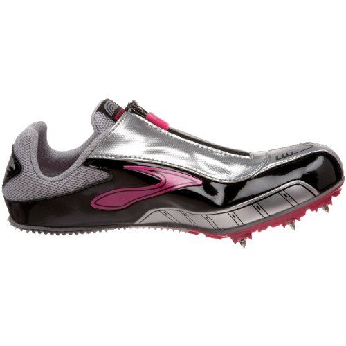 Brooks Womens PR Sprint Track Spike Shoe Gemma/Silver/Black IVWAtaa2I