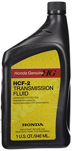 Genuine Honda 08200-HCF2 Fluid Hcf-2, 1 U.S. QT/946 ML (Auto Transmission Fluid Honda)