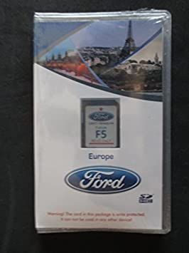 FORD SYNC NAVIGATION TOUCHSCREEN MAP SD CARD F5 UK EUROPE