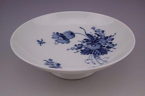 Vintage Royal Copenhagen Denmark Blue Bouquet Footed Pedestal Bowl # 9269 (Royal Animal Copenhagen)
