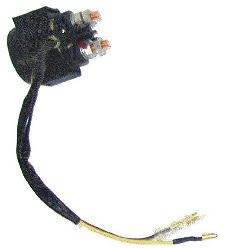 SOLENOID / RELAY (2 wires) for Chinese made 110cc, 125cc, 150cc, 200cc, 250cc, 300cc ATV, Dirt Bike, Pocket Bike, Chopper, Scooter, Go-Kart