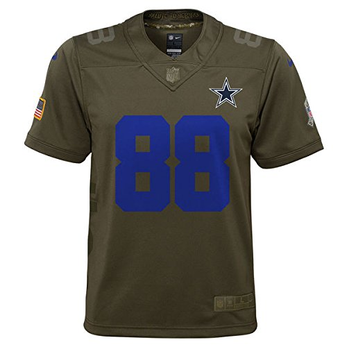218fefa7318 Amazon.com : Dallas Cowboys Youth Dez Bryant #88 Nike Limited Salute To Service  Jersey (Green, Youth Small(8)) : Sports & Outdoors