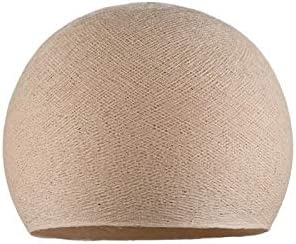 100/% Handmade Linen Dome Fabric Lampshade M-36 cm Dome lamp Shade for Pendant Lights Hanging Lights /& Chandelier