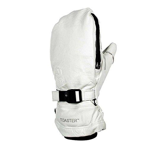 Swany Legend II Mitt Snow Gloves White Medium by Swany