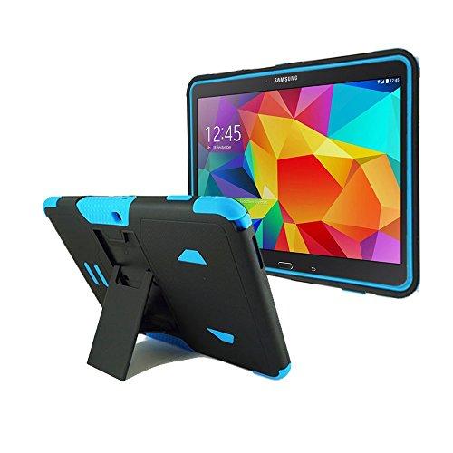 BNY WIRELESS%C2%AE Samsung Galaxy SM T530 Kickstand Black Blue product image