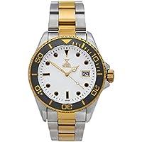 [Patrocinado] Nobel Classic Sport reloj de pulsera con esmalte negro bisel giratorio–movimiento de cuarzo suizo