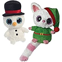 Aurora Christmas Santa Elf and Snowman 5