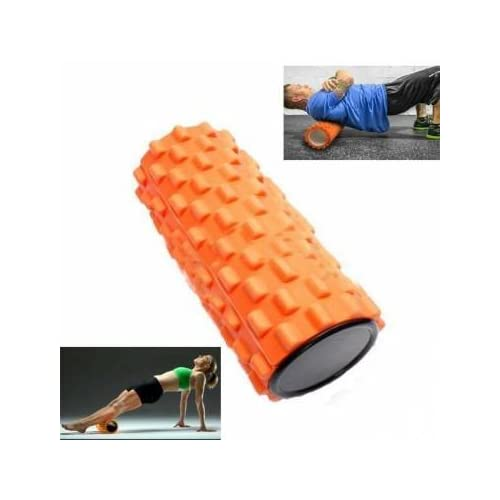 Bheema 32x12cm EVA Yoga Pilates Foam Roller Home Gym Massage Trigger Point
