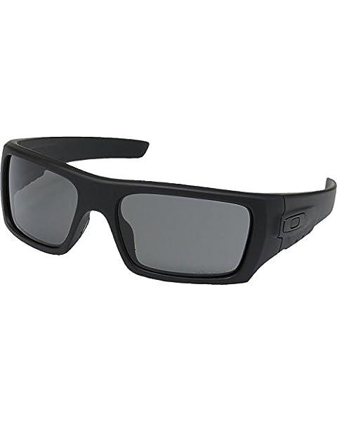 72fe2238fcd1 Oakley Men's Det Cord Rectangular Sunglasses, Matte Black, ...