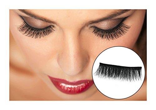3D Professional Reusable Dual Magnetic False Eyelashes 1 Pair (4 pieces) Natural - Real False Eyelashes Hair