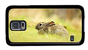 Hipster Samsung Galaxy S5 Case online cover cute hare PC Black for Samsung S5