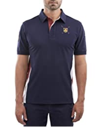 Playera Polo Manga Corta Regular Fit Marino