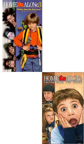 Home Alone 3/ Home Alone 4 - Taking Back the House (2 Pack) (Home Alone 4 Taking Back The House)