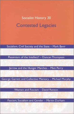 Download Socialist History Journal Issue 20: Contested Legacies PDF