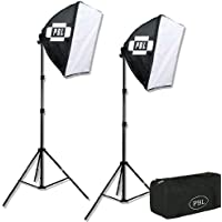 PBL Studio Photography Video Light Kit Continuous Lighting Kit Video Lighting EZ 24x 24 Softbox Photographic Lighting