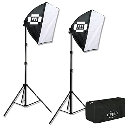 PBL Studio Photography Video Light Kit Continuous Lighting Kit Video Lighting EZ 24u0026quot;x 24u0026quot  sc 1 st  Amazon.com & Amazon.com : PBL Studio Photography Video Light Kit Continuous ...