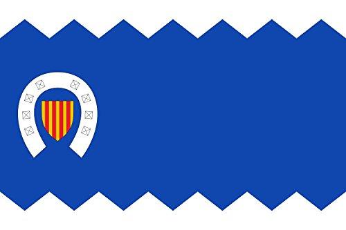 DIPLOMAT-FLAGS Herrera de los Navarros-Zaragoza Bandera | bandera paisaje | 0.06m² | 20x30cm Banderas de Coche