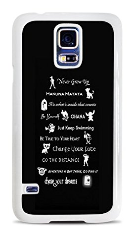 No Worries Quote White Hardshell Case for Samsung Galaxy S5