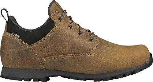 Hanwag - Zapatillas de senderismo de Piel para hombre marrón