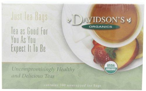 [Davidson's Tea Green Tea Garden, 100-Count Tea Bags] (Garden Gourmet Tea)