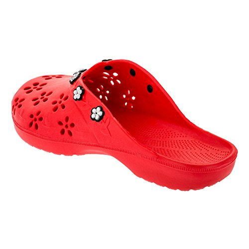 2Surf Women's Clogs M315rt Rot LQD93K4RXj