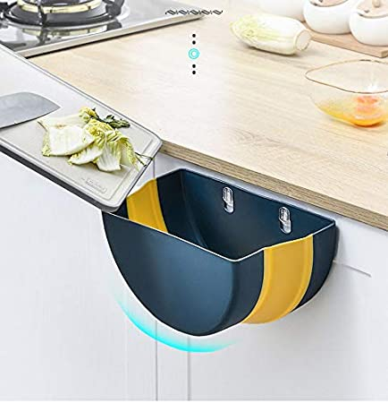 Ba/ñO Coche IYOYI Papelera Cocina Plegable Colgando Basura Accesorios Autocaravana para Cocina Oficina