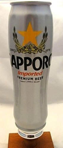 Sapporo Can Beer Tap Handle Keg Marker