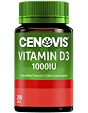 Cenovis Vitamin D3 1000IU - Helps calcium absorption - Supports bone strength - Supports muscle strength