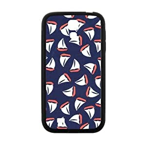 Little Sailboats Coral Navy Case for Samsung Galaxy S4